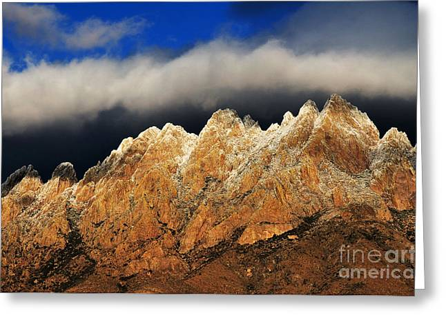 Las Cruces Photograph Greeting Cards - Touching the Clouds Greeting Card by Vivian Christopher