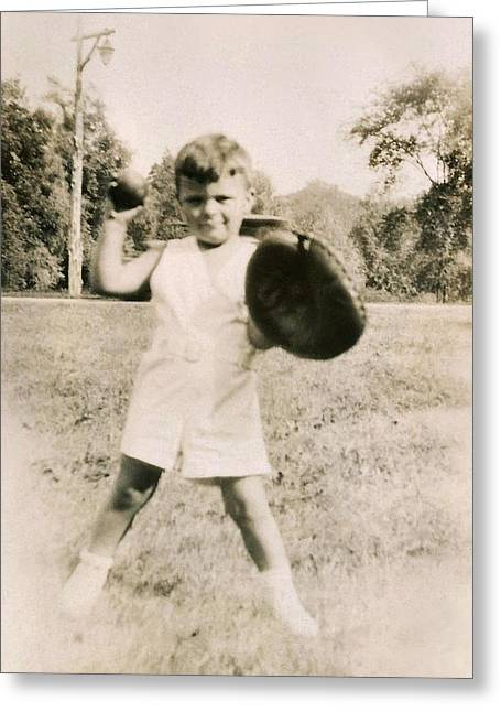 Print Greeting Cards - Tough Guy Greeting Card by JAMART Photography