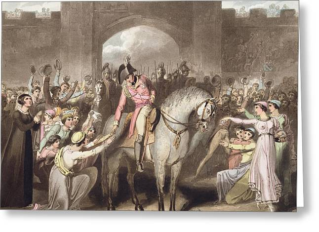 End Of War Greeting Cards - Toulouse, 10th April 1814, From The Greeting Card by Richard Westall