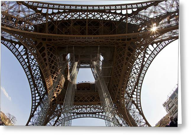 Tour Eiffel 4 Greeting Card by Art Ferrier