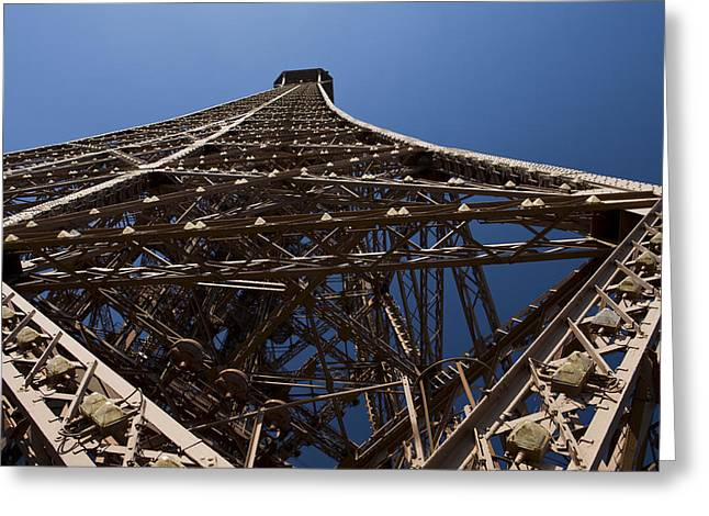 Tour Eiffel 7 Greeting Card by Art Ferrier