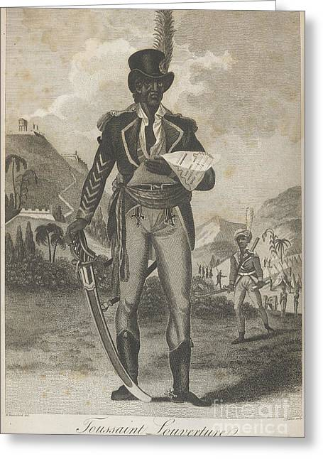 Black History Greeting Cards - Toussaint Louverture Greeting Card by British Library