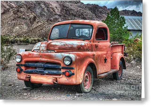 Tow Greeting Cards - Tow Mater Greeting Card by Eddie Yerkish