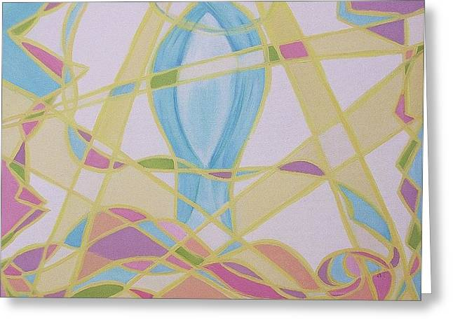 Toward Love Greeting Card by Suzanne  Marie Leclair
