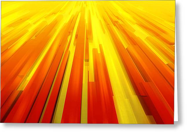 Haut Digital Greeting Cards - Towards the sun Greeting Card by Philippe Meisburger