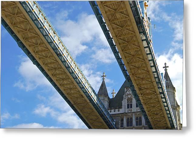Tower Bridge Greeting Card by Christi Kraft