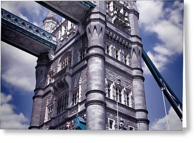 Tower Bridge London Greeting Card by Mariola Bitner