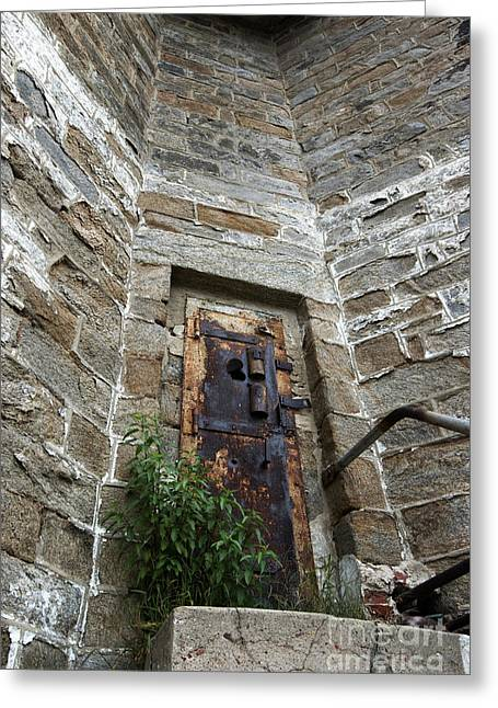 Guard Tower Greeting Cards - Tower Door Greeting Card by Paul W Faust -  Impressions of Light