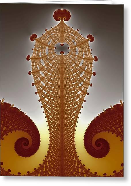 Eggleston Greeting Cards - Tower Greeting Card by Mark Eggleston
