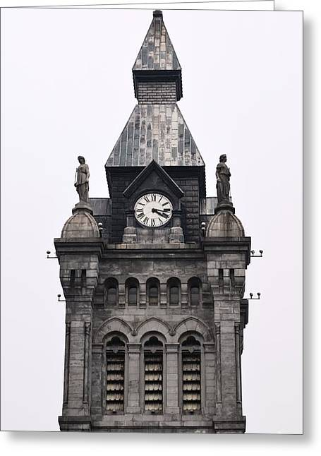 Esem8chart.com Greeting Cards - tower of Justice Greeting Card by Sarah Holenstein