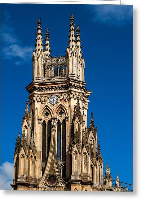 Tower Of Lourdes Church Greeting Card by Jess Kraft