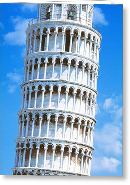 Framework Greeting Cards - Tower Of Pisa, Tuscany, Italy Greeting Card by Panoramic Images