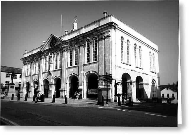 Outside Pictures Greeting Cards - Town Hall Monmouth Greeting Card by Andrew Read