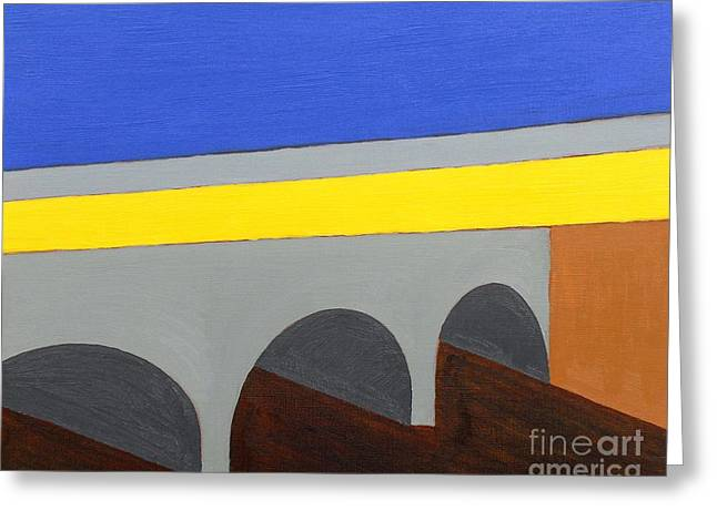 T Shirts Greeting Cards - Townscape 2 Greeting Card by Patrick J Murphy