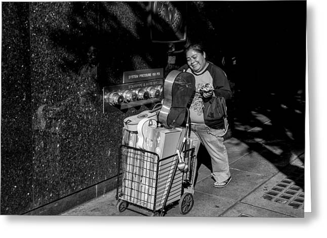 Toy Vendor Greeting Card by Thomas Hall Photography