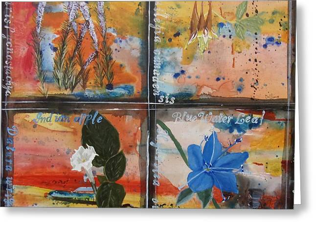 Lounge Paintings Greeting Cards - Texas Wildflowers Tp S Greeting Card by Michael Dillon