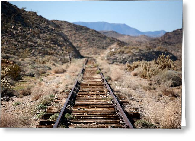 Train Tracks Greeting Cards - Tracks to Nowhere Greeting Card by Peter Tellone