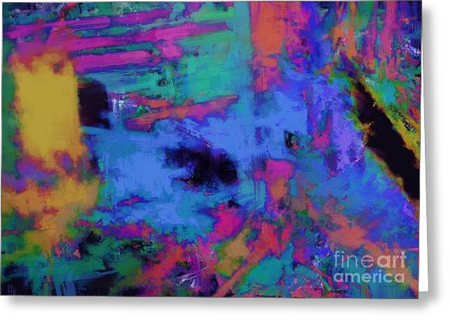 Subtle Colors Greeting Cards - Traction Greeting Card by Keith Mills