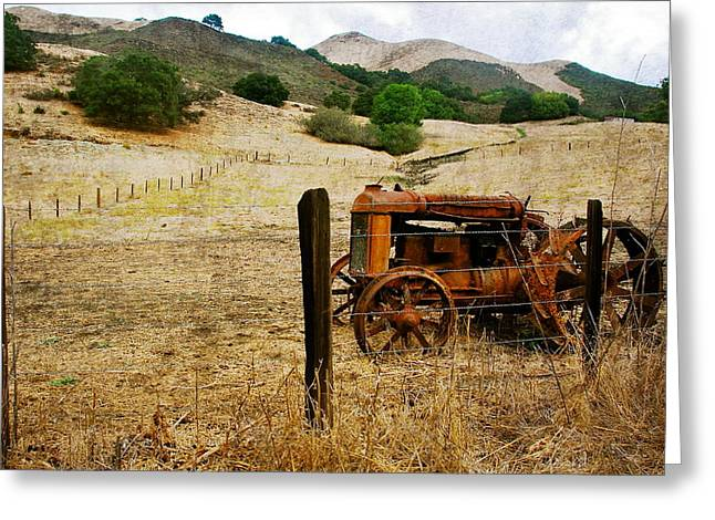 Cambria Greeting Cards - Tractor Life Greeting Card by Arlene Carley
