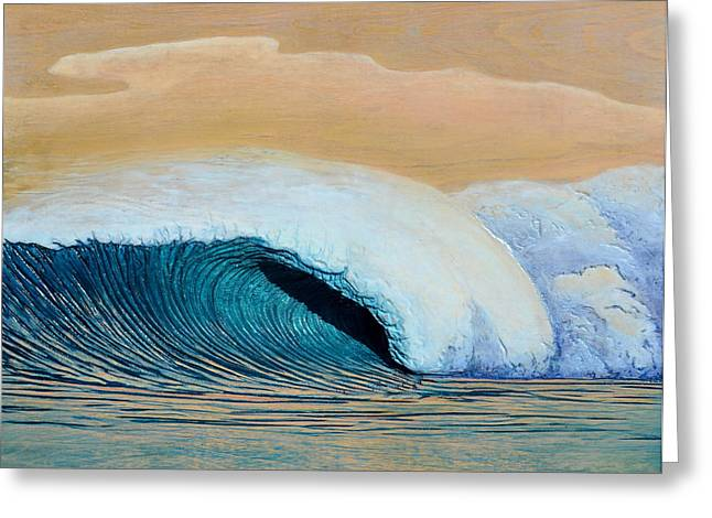 Ocean Reliefs Greeting Cards - Trade Winds Greeting Card by Nathan Ledyard