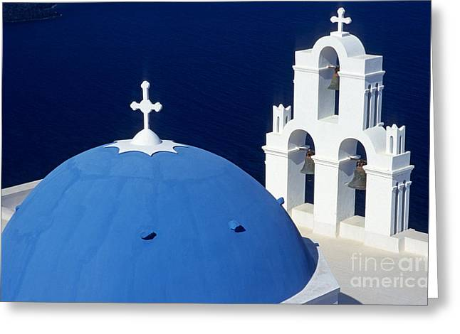 Journey Greeting Cards - Traditional church Greeting Card by George Atsametakis