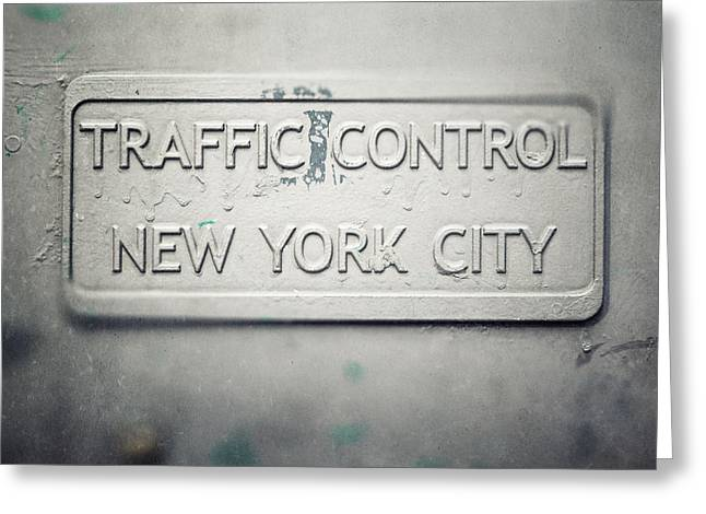 Traffic Control Greeting Cards - Traffic Control Greeting Card by Lisa Russo
