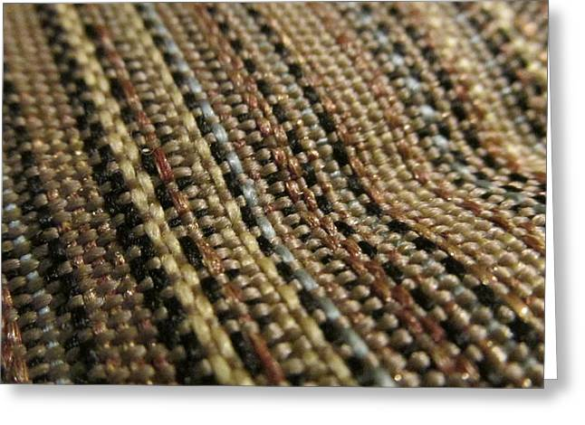 Texture Tapestries - Textiles Greeting Cards - Traffic Greeting Card by Edward Boggs