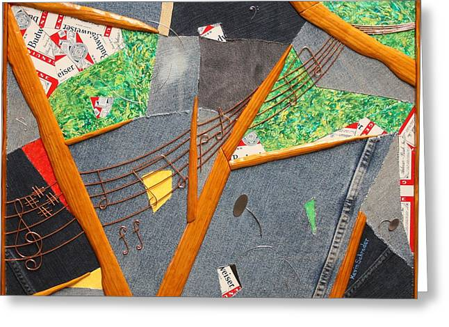 Benatar Greeting Cards - Traffic Light Rockin Greeting Card by Kevin Schrader
