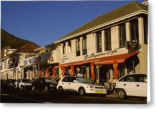 Cape Town Greeting Cards - Traffic On The Road, Lions Head, Camps Greeting Card by Panoramic Images