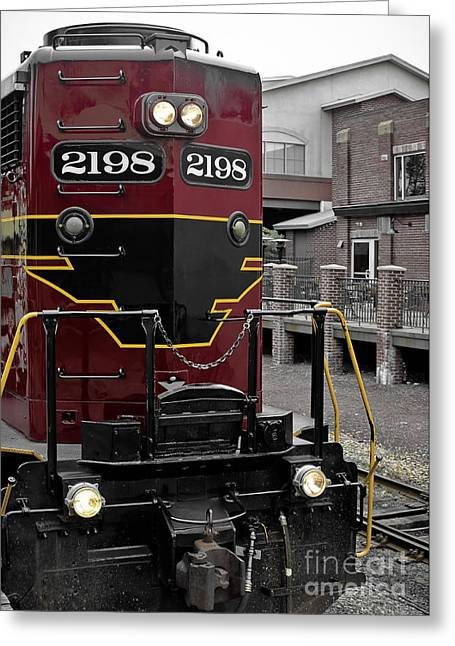 Train Rides Greeting Cards - Train - 2198 Greeting Card by Colleen Kammerer