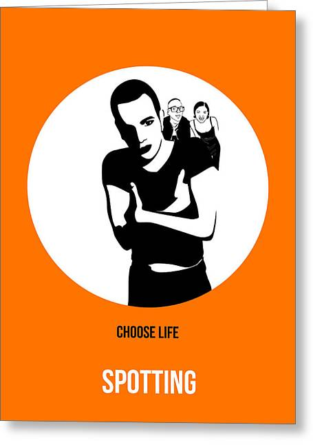 Shows Greeting Cards - Trainspotting Poster 2 Greeting Card by Naxart Studio