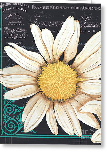 Daisy Greeting Cards - Tranquil Daisy 2 Greeting Card by Debbie DeWitt