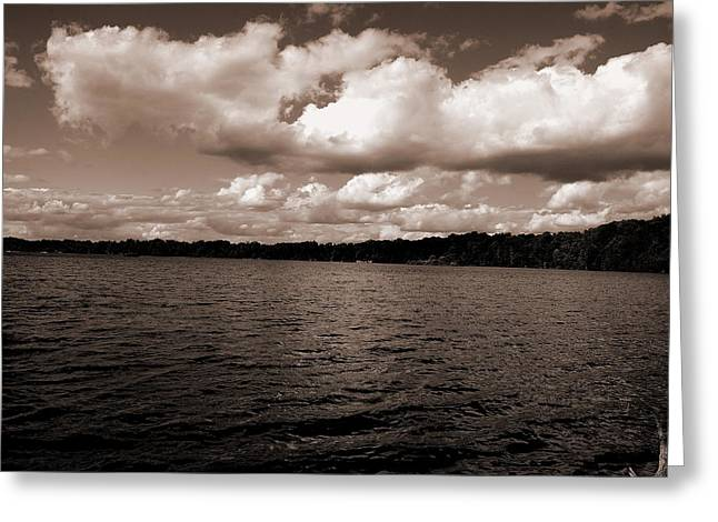 Diane Reed Greeting Cards - Tranquil Greeting Card by Diane Reed
