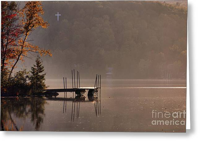 Aimelle Photography Greeting Cards - Tranquil Evening Greeting Card by Aimelle