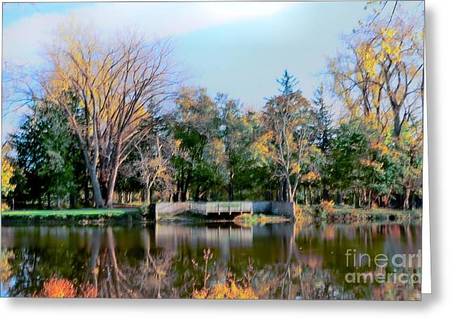 Tranquil Greeting Card by Kathleen Struckle