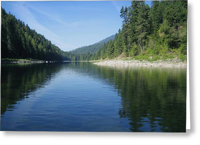Beautiful Scenery Greeting Cards - Tranquil Reflections Greeting Card by Ann Powell