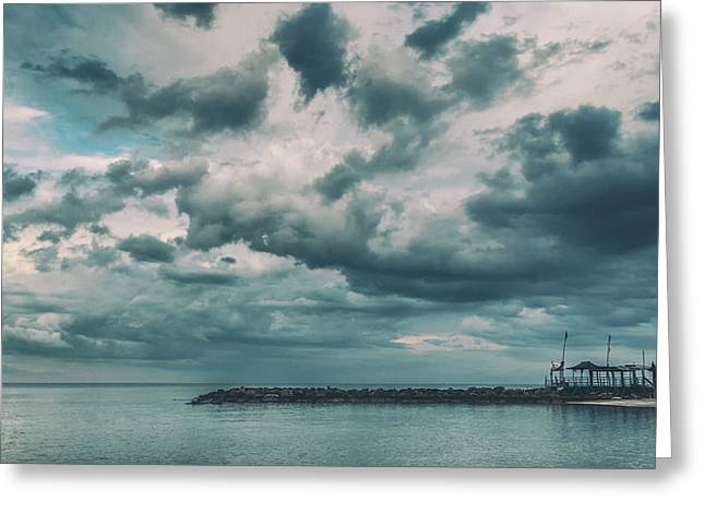 Background Greeting Cards - Tranquil Greeting Card by Stylianos Kleanthous