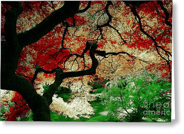 Tree Of Life Greeting Cards - Tranquility 2 Greeting Card by Marvin Blaine