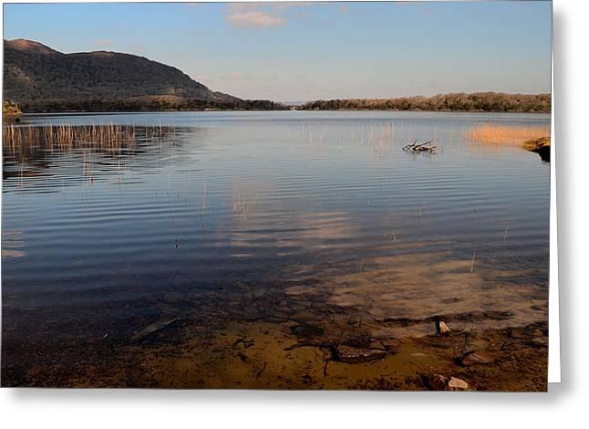 Walsh Lake Greeting Cards - Tranquility Greeting Card by Barbara Walsh