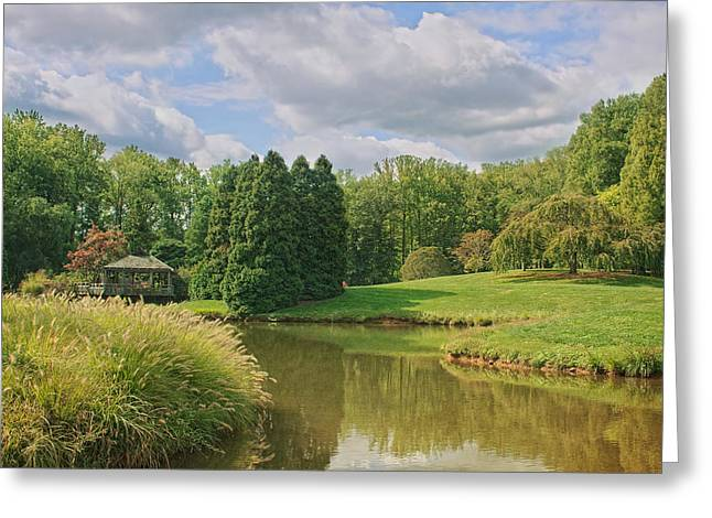 Nature Scene Greeting Cards - Tranquility Greeting Card by Kim Hojnacki