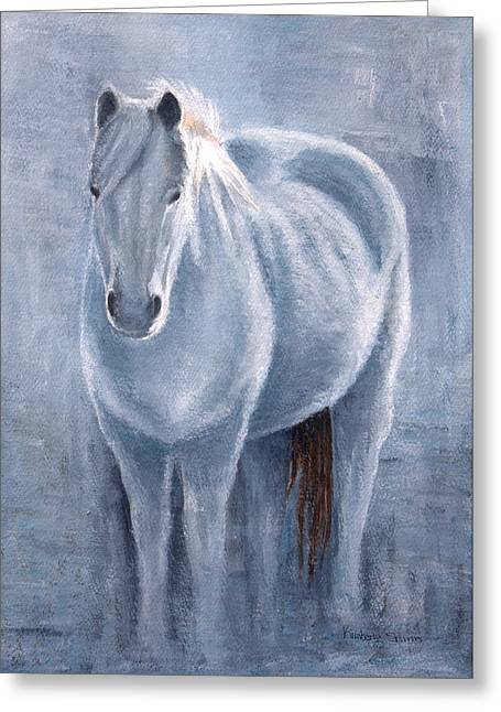 Equine Greeting Cards - Tranquility Greeting Card by Kimberly Shinn