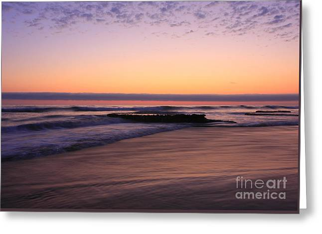 Ocean Art Photography Greeting Cards -  Swamis Tranquility Reef Greeting Card by John Tsumas