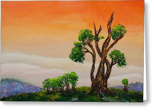 Killen Greeting Cards - Tranquility Greeting Card by William Killen
