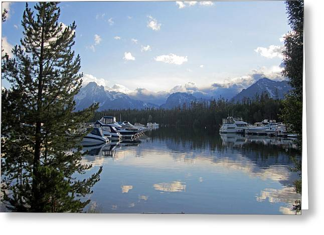 Water Photographs Greeting Cards - Tranquillity Greeting Card by Mike Podhorzer
