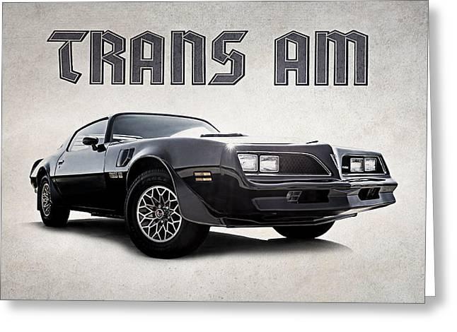 Trans Am Greeting Card by Douglas Pittman