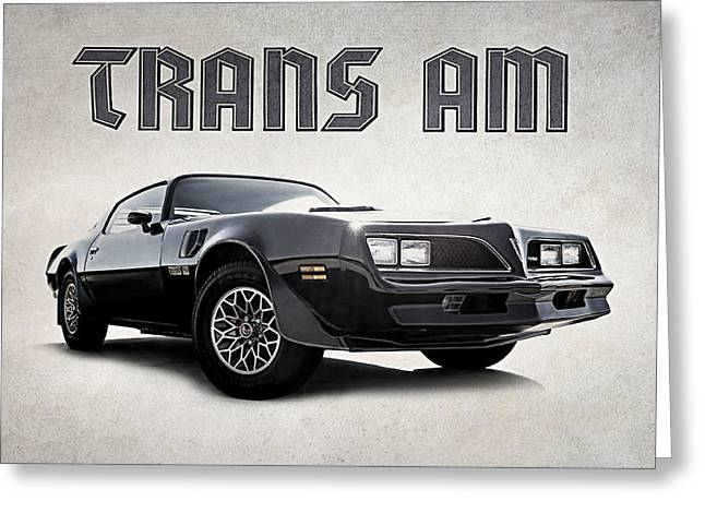 Burt Reynolds Greeting Cards - Trans Am Greeting Card by Douglas Pittman