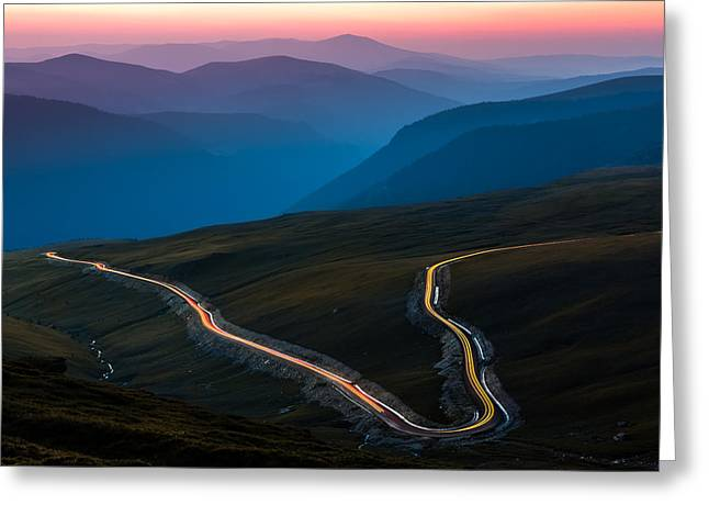 Carpathian Mountains Greeting Cards - Transalpina Greeting Card by Mihai Andritoiu