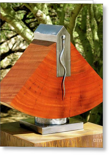 Weld Sculptures Greeting Cards - Transcendence Greeting Card by Robert Hartl