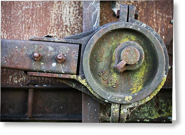 Antique Ironwork Greeting Cards - Transfer of Power Greeting Card by Jeff Mize