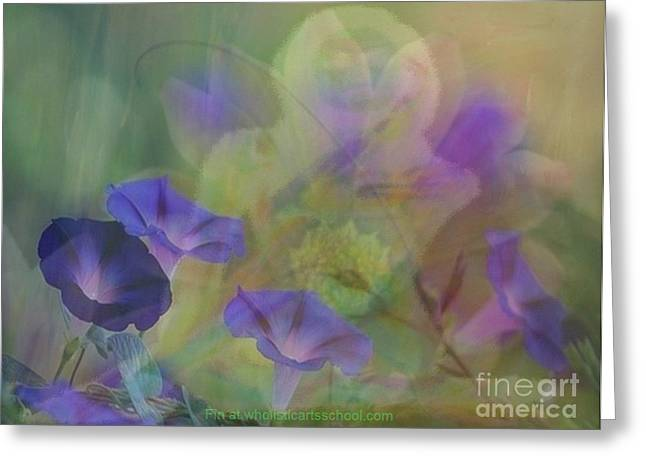 Transformation Greeting Card by PainterArtist FIN